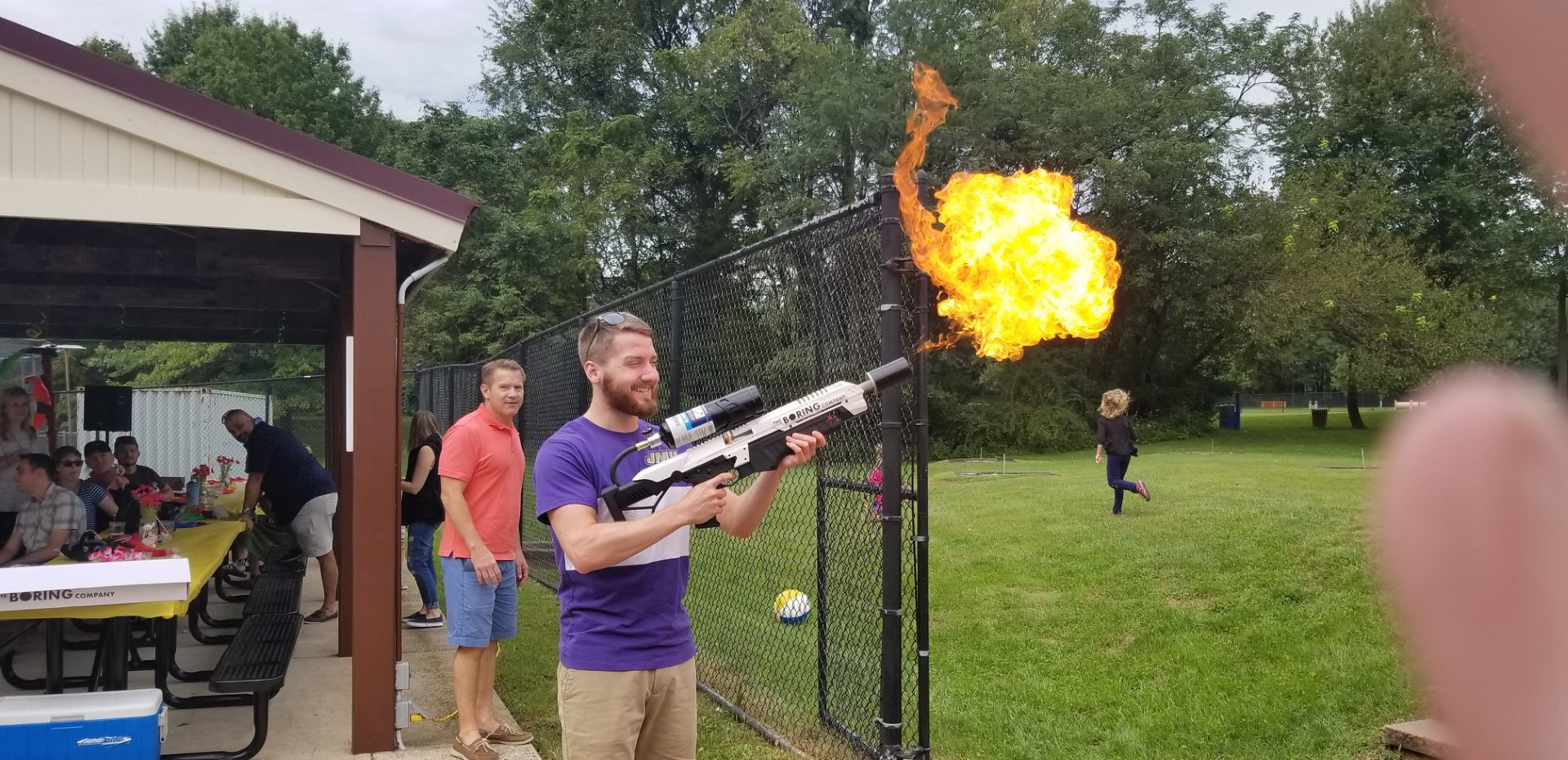 2018 picnic flamethrower